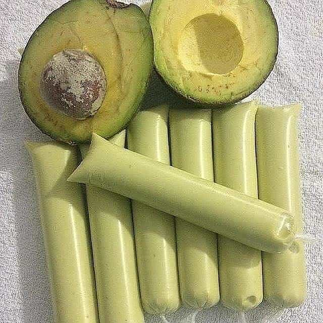 Sacolé de Abacate