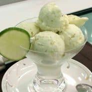 Receita de Sorvete caseiro de Limão Saudável