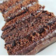 Receita de Torta de chocolate Fit
