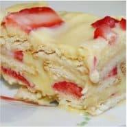 Receita de Torta de Morango