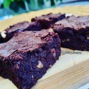 Receita de Brownie de Nozes