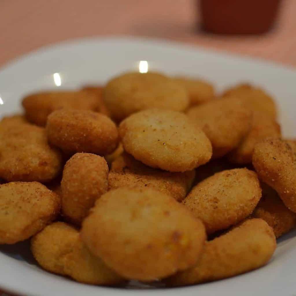 Nugetts de feijão branco