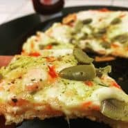 Receita de Pizza light