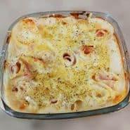 Receita de Rondelli de queijo e presunto