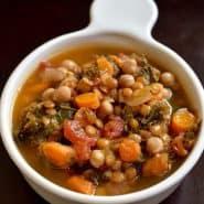 Receita de Sopa de Grão-de-Bico