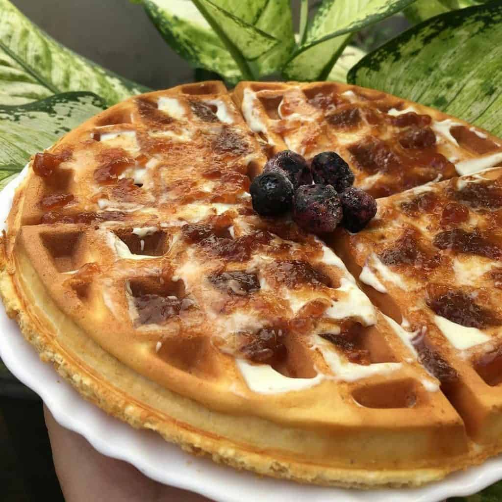 Waffle proteica