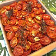 Receita de Tomates Confit