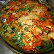 Receita de Bacalhau de forno à portuguesa
