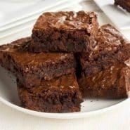 Receita de Brownie de Chocolate sem açúcar