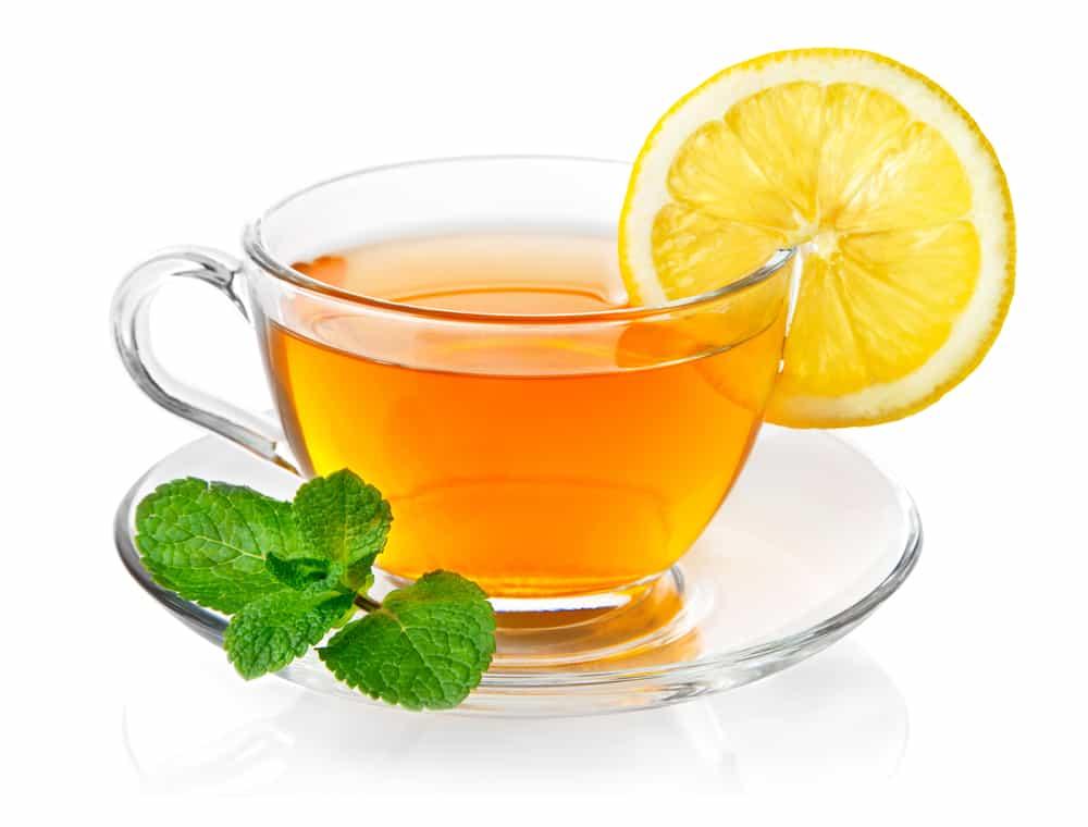 Receita de Chá de Gengibre com Casca de Laranja
