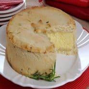 Receita de Empadão de ervas com queijo
