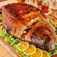 Receita de Peixe de forno recheado