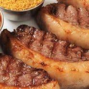 Receita de Picanha assada na crosta de sal