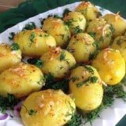 Receita de Salada de batata bolinha