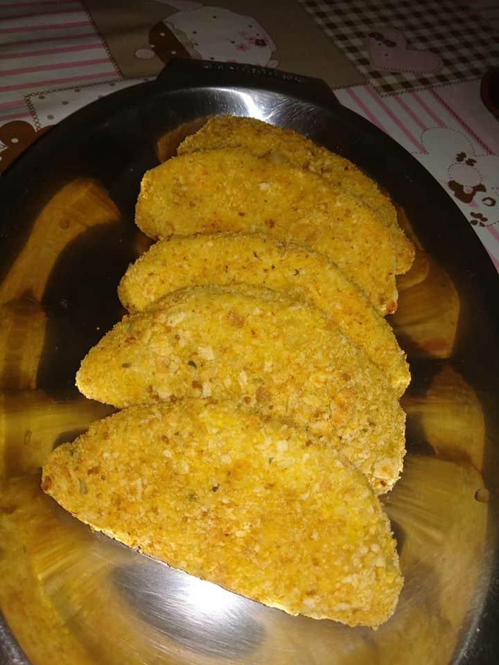 Receita de Salgado de massa de mandioca na Air Fryer