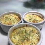Receita de Suflê de brócolis