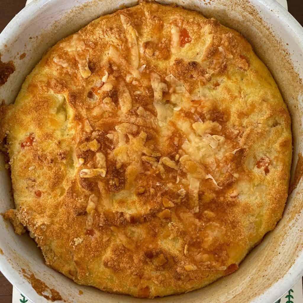 Receita de suflês de cenoura e queijo