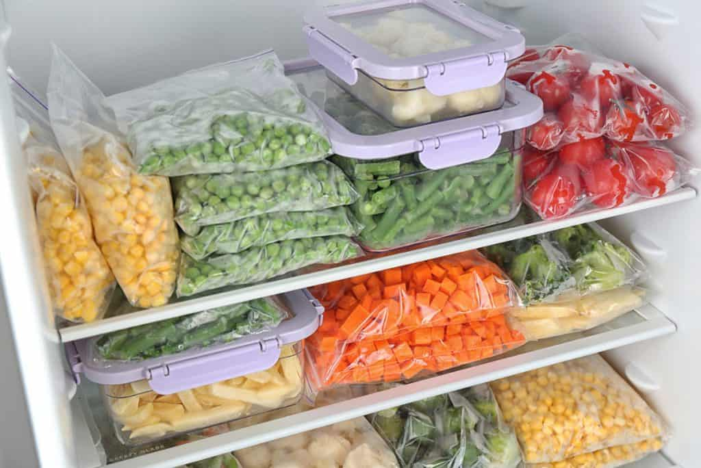 Como congelar frutas e vegetais e conservar alimentos