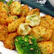 Receita de Bolinho de bacalhau crocante