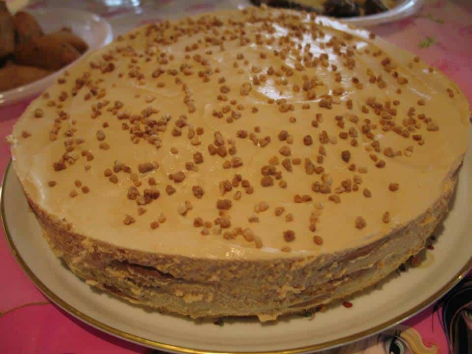 Receita de bolo de bolacha
