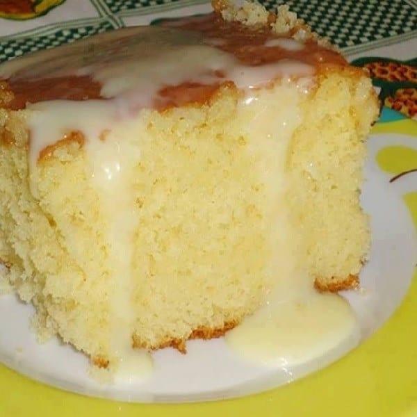 Receita de bolo de leite de coco