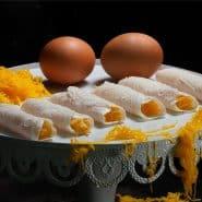Receita de Charutos de Ovos