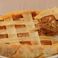 Receita de Empadão de carne com massa de pastel