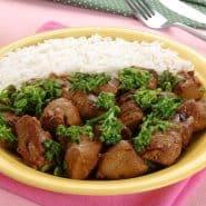 Receita de Filé de frango com brócolis