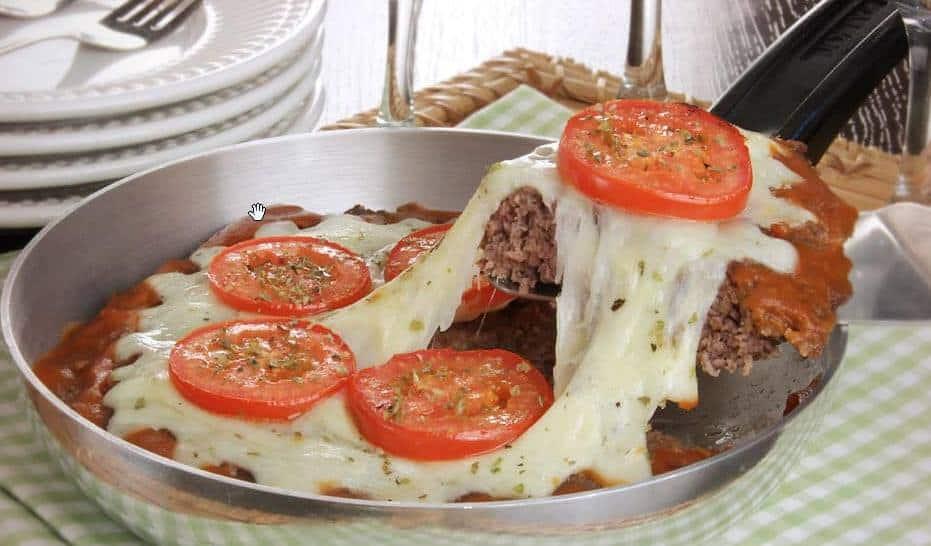 Receita de Hamburguer de carne moída