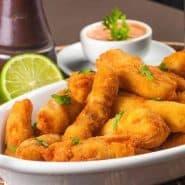 Receita de Isca de peixe frito