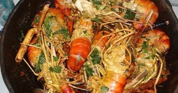 Receita de Moqueca de lagosta