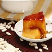 Receita de Pudim de feijão branco