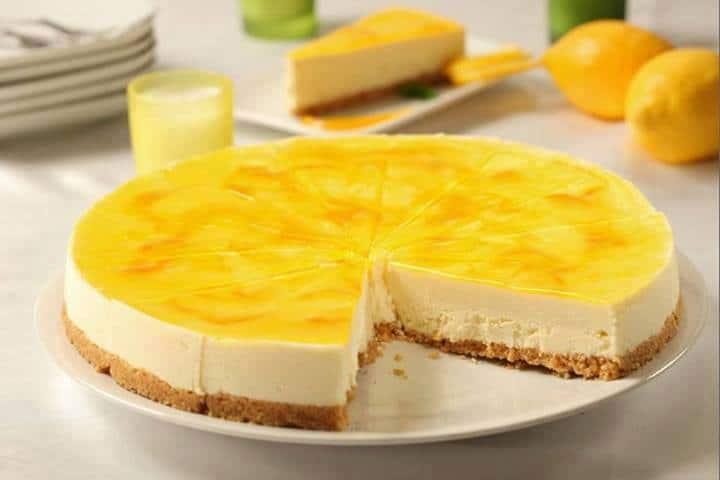 Receita de Cheesecake de Limão