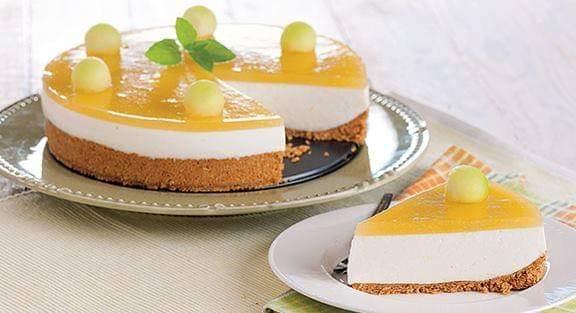 Receita de Cheesecake de melão