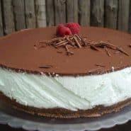 Receita de Cheesecake de menta