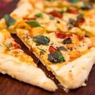 Receita de Pizza de Pão de Queijo