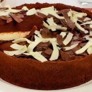 Receita de Torta de chocolate duplo