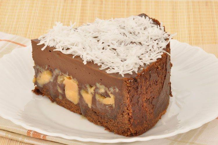 Receita de torta de Chocolate e Doce de Leite