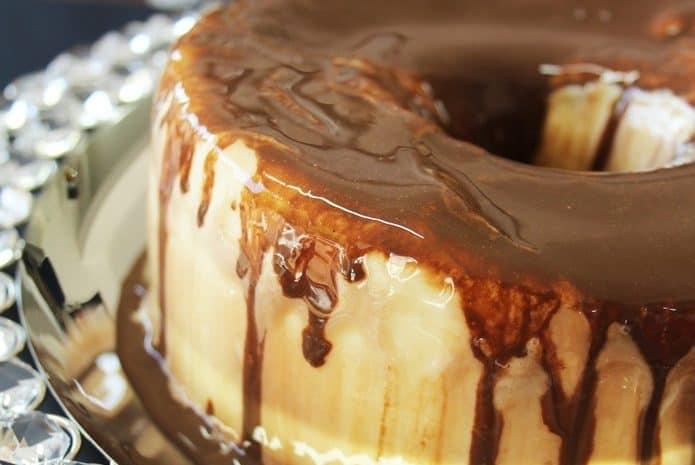 Receita de Torta de sorvete de leite ninho