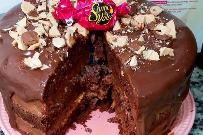 Receita de Recheio de sonho de valsa para bolos