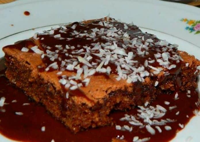 Receita de Brownie Prestígio