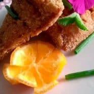 Receita de Peroá marinado com mostarda dijon e limão-cravo