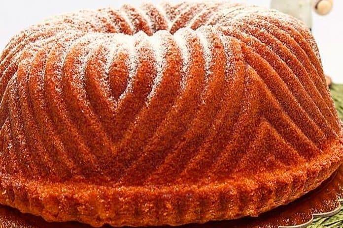 Receita de bolo de laranja e leite ninho