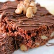 Receita de Brownie de Nutella com Nozes