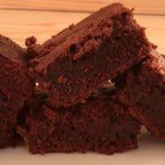 Receita de Brownie fácil e rápido