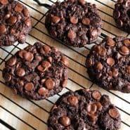 Receita de Cookie de chocolate belga