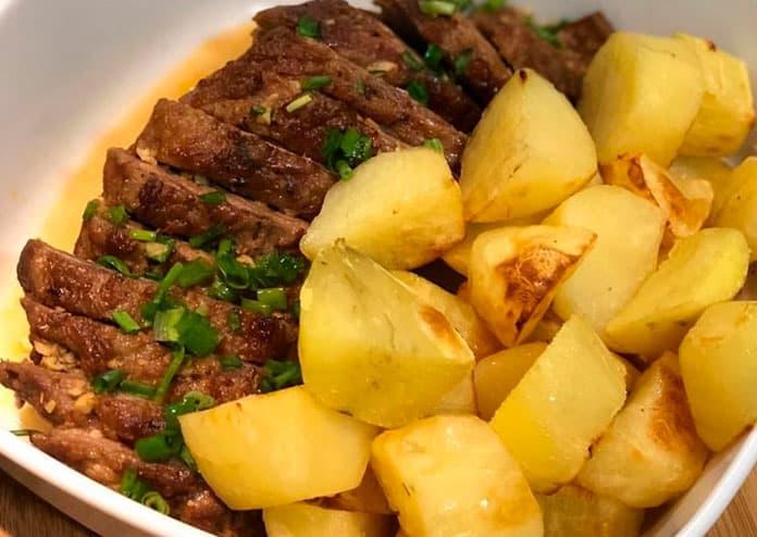 Receita de Maminha com batatas