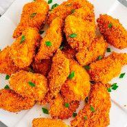 Receita de Nugget caseiro de sassami de frango