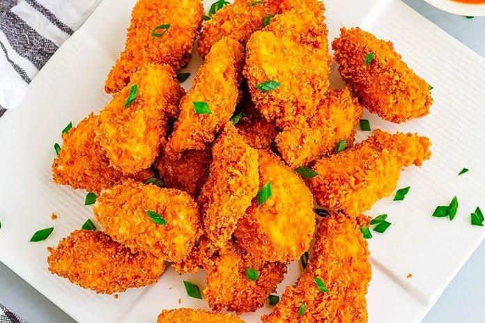 Receita de Nugget de sassami de frango