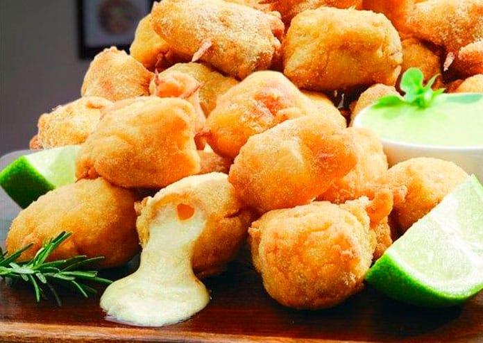 Receita de Peixe frito com provolone